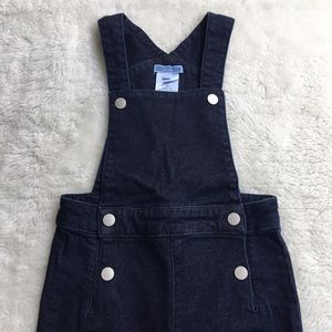 Jacadi Toddler Girl Overall Blue Jeans Size 3 Y